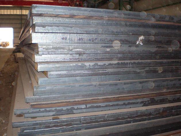 Лист ст.20ХГСНМ 34х480х820мм (105кг) ржав 34мм, фото 2