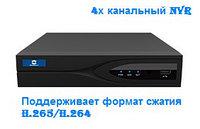H.265 Сетевой видеорегистратор NVR 4-х канальный