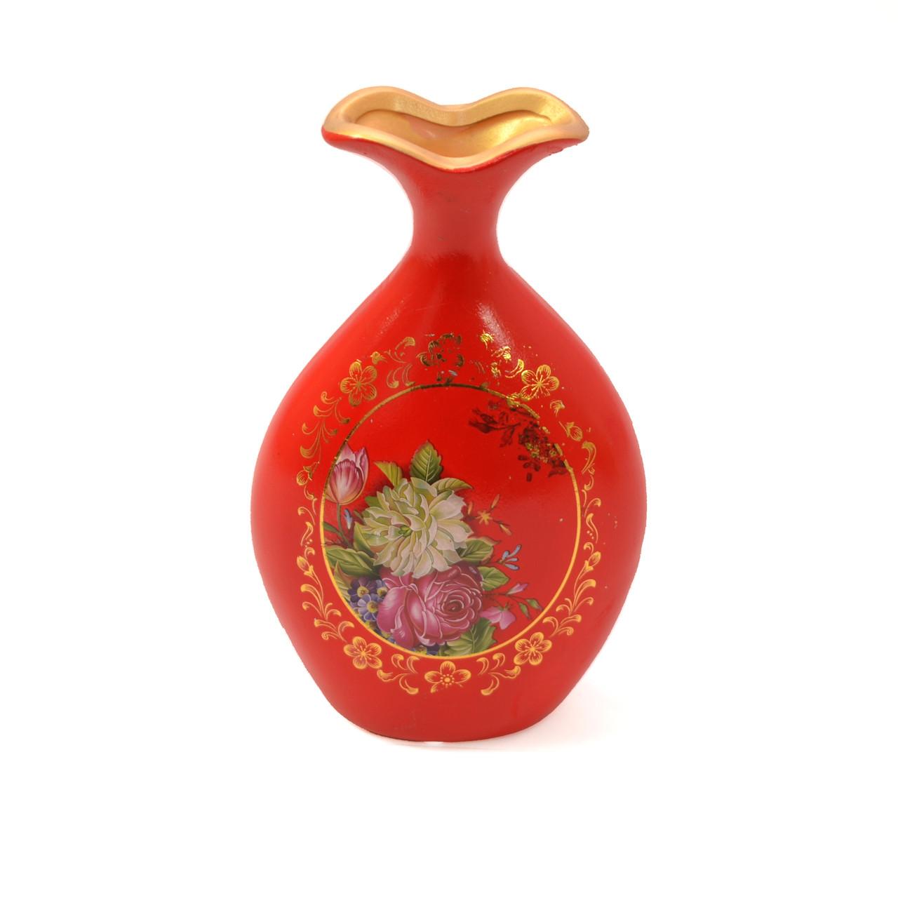 Декор ваза-фляга