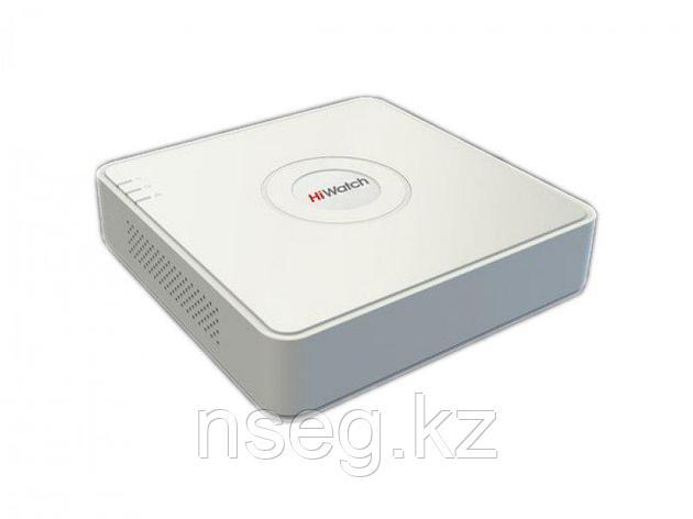 HiWatch DS-H104G 4-х канальный гибридный регистратор для аналоговых, HD-TVI и AHD камер + 1 IP, фото 2