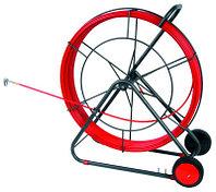 DKC Устройство закладки кабеля на вращ. барабане,стеклопруток д.4,5мм, длина 60 м, фото 1