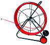 DKC Устройство закладки кабеля на вращ. барабане,стеклопруток д.9мм, длина 80 м