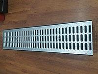Решетка штампованная стальная оцинкованная ширина 236мм