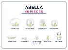 Столовый сервиз Luminarc Carine Abella 46 предметов на 6 персон, фото 2