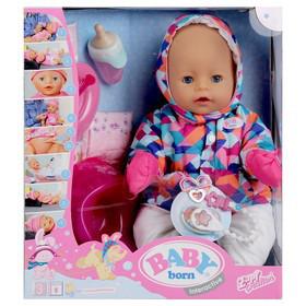 BABY born Кукла интерактивная Зимняя пора