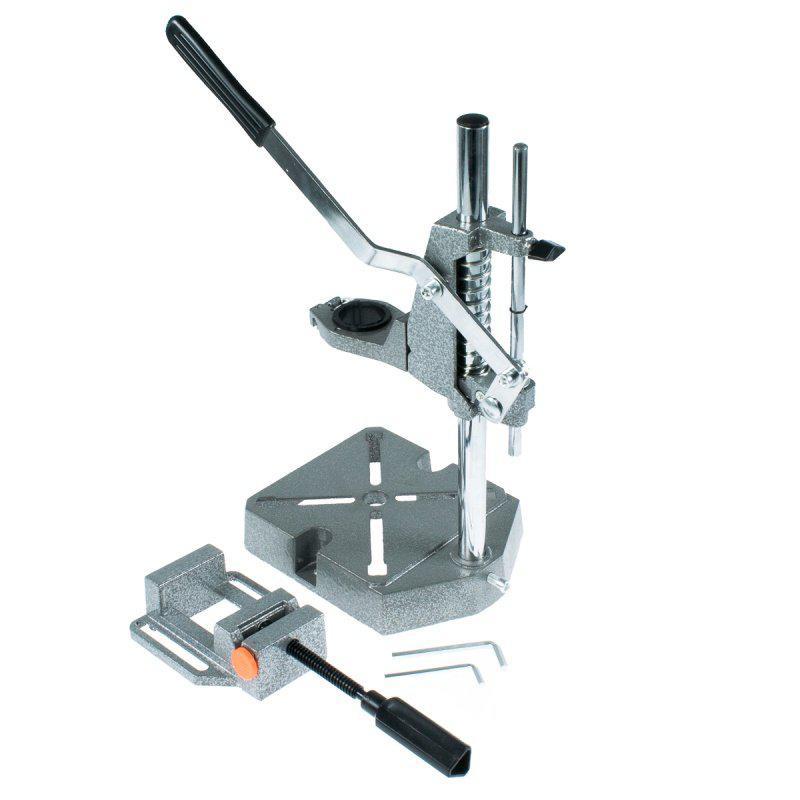 (37861) Станок для дрели c тисками 60 мм