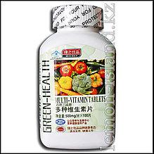 Мультивитаминный комплекс от фабрики Green Health в мягких таблетках.