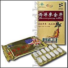 """""""Американский красный женьшень"""", экстракт женьшеня в таблетках, 12 шт. в упаковке."""