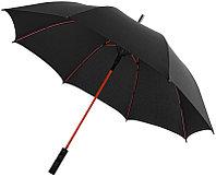 Зонт черный/красный