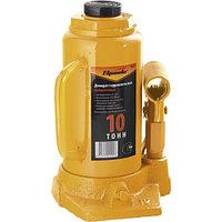 Домкрат гидравлический бутылочный, 10 т, h подъема 200-385 мм// SPARTA