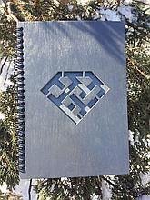 Деревянный блокнот подарочный с лого