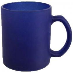 Кружка Хамелеон стекло синяя