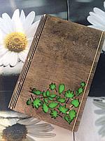 Блокнот деревянный Астана