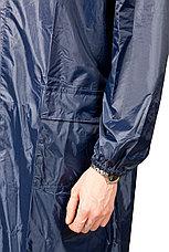 Плащ-дождевик STAYER 11612-56, нейлоновый на молнии, синий цвет, размер 56-58, фото 3