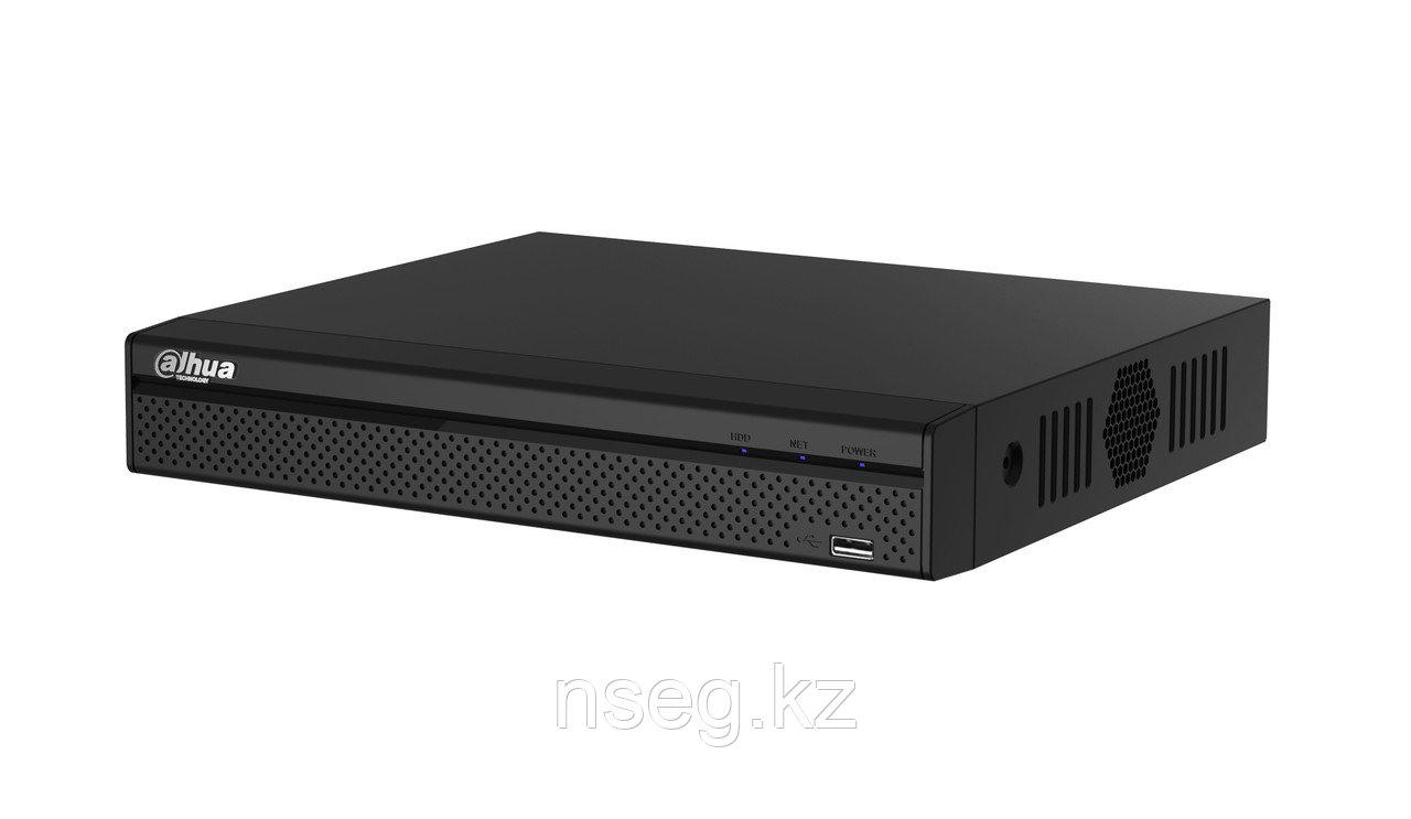 4 канальный видеорегистратор, Tribrid трибрид (аналог, HDCVI, IP) DAHUA HCVR5104HS-S3