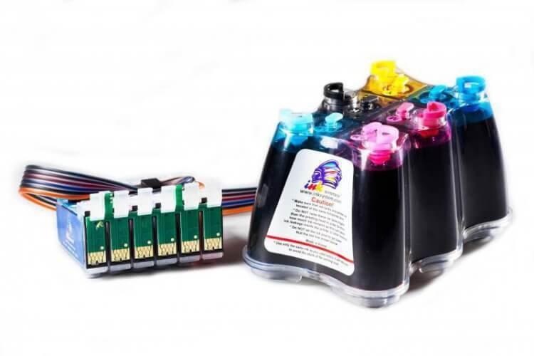 СНПЧ Epson Colorio EP-977A3