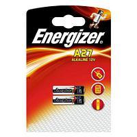 Элемент питания Energizer A27 -2 штуки в блистере