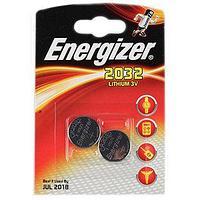 Элемент питания Energizer CR2032 -2 штуки в блистере