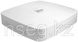 4 канальный Smart 1U сетевой видеорегистратор с 4 РоЕ портами Dahua NVR2104-P-S2, фото 2