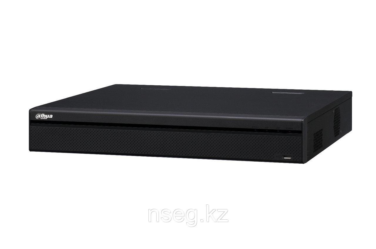 16 канальный 1,5U 4K сетевой видеорегистратор с 16 Poe портами Dahua NVR4416-16P-4KS2