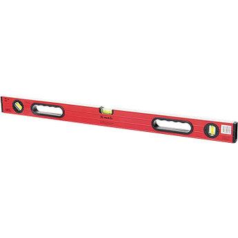 (34306) Уровень алюминиевый, 800 мм, 3 глазка, ударопрочные заглушки, двухкомпонентные ручки// MATRIX
