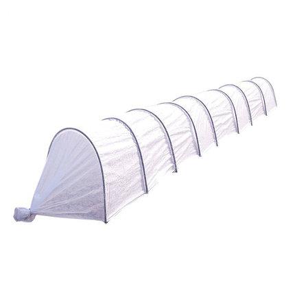 Парник «Ленивый», длина 8,5 м , 9 дуг, укрывной материал 42 г/м2, фото 2