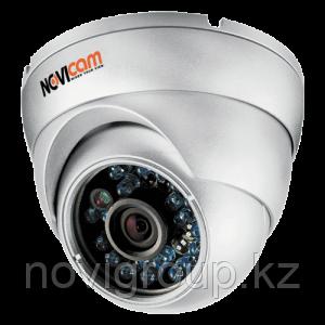 Вандалозащищенная всепогодная видеокамера IP 1Mp N11W NOVIcam