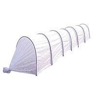 """Парник """"Ленивый"""", длина 6.5 м , 7 дуг из пластика, укрывной материал 42 г/м2"""
