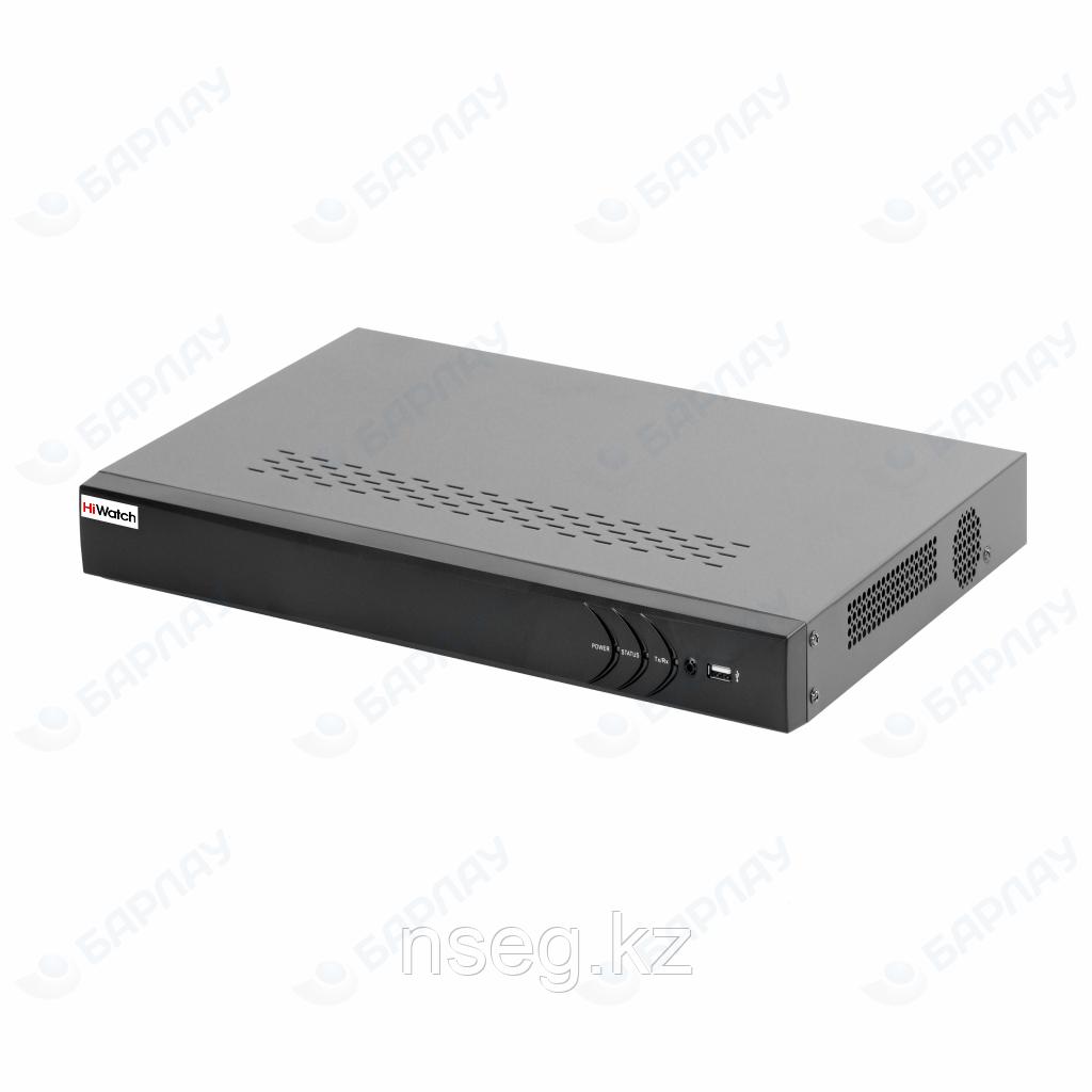 HiWatch DS-N616P 16-ти канальный IP-регистратор с 16-ю PoE интерфейсами