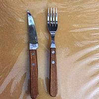 Нож,вилка для стейка