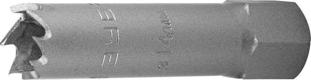 """(29531-014_z01) Коронка ЗУБР """"ЭКСПЕРТ"""" биметаллическая, 14 мм, глубина сверления до 38 мм."""