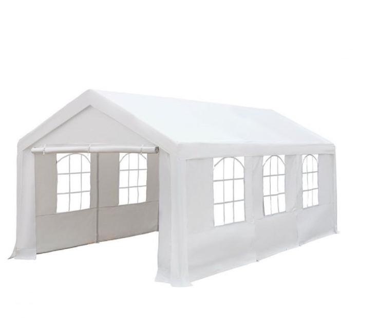 Шатер большой со стенками, белый (3х6м)