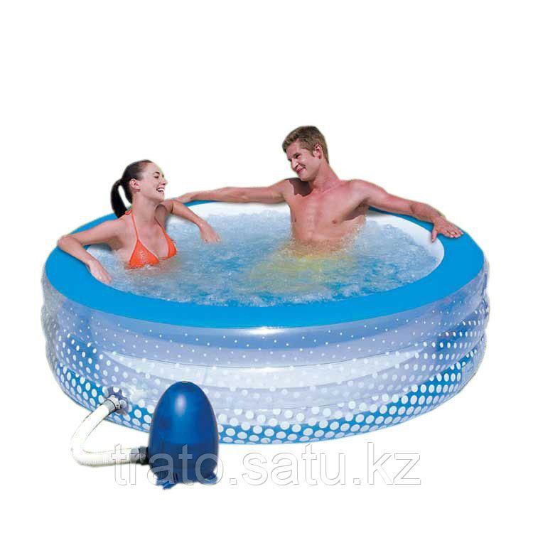 Надувной бассейн-джакузи 196x53CM