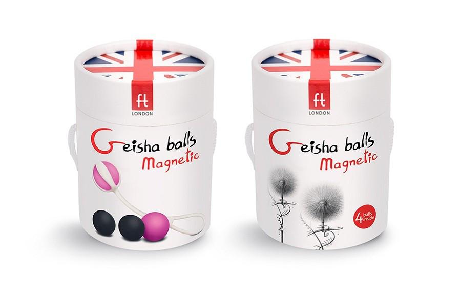 Инновационные вагинальные шарики на магнитах Gvibe Geisha Balls Magnetic