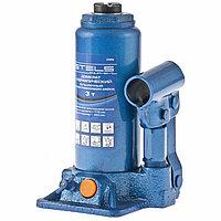 Домкрат гидравлический бутылочный, 3 т, h подъема 178–343 мм. STELS