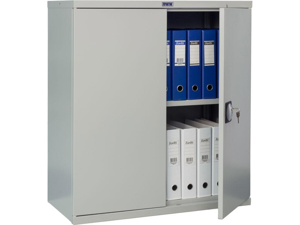 Шкаф архивный металлический СВ-21 (1000х1000х500 мм)