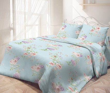 """Комплект постельного белья """"Утро в саду"""""""