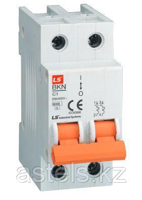Миниатюрные автоматические выключатели BKN 2P (1-63A), фото 2