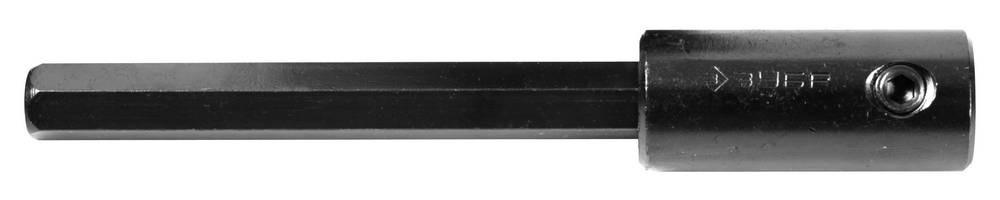 (29539-140) Удлинитель ЗУБР для коронок биметаллических, имбусовый ключ, шестигранный хвостовик 12,5