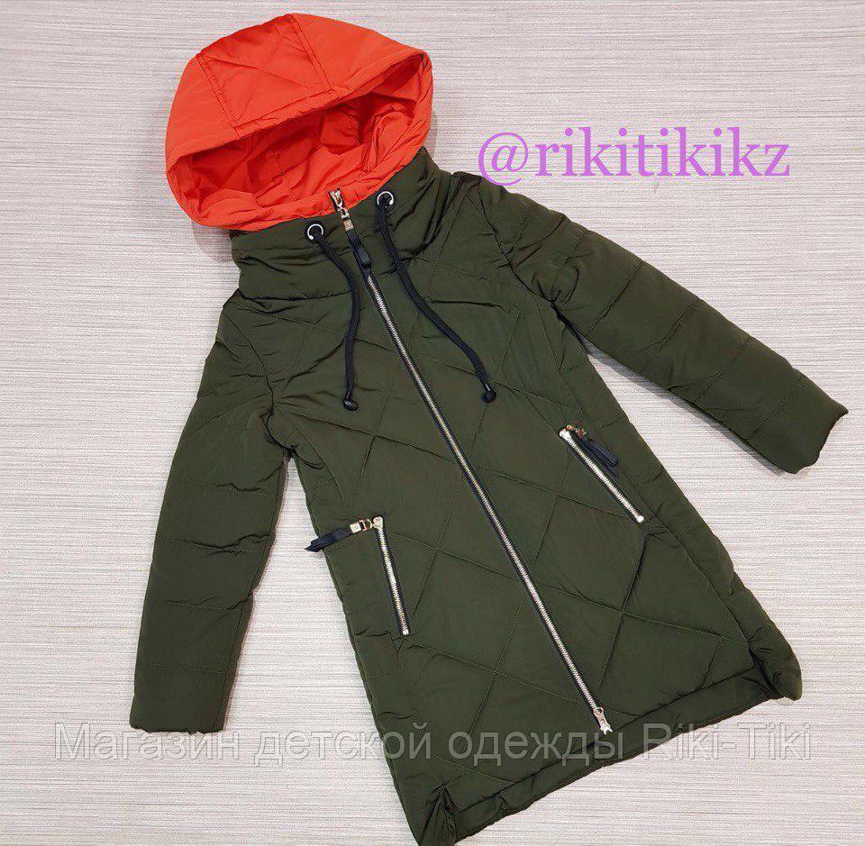 Куртка удлиненная детская