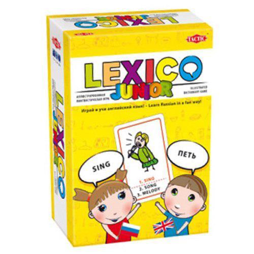 Настольная игра: Учим язык для Детей (Lexico: Junior) / Английский, арт
