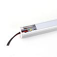Алюминиевый профиль для светодиодных линеек с экраном, фото 3