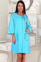 Женский трикотажный домашний халат.  Россия