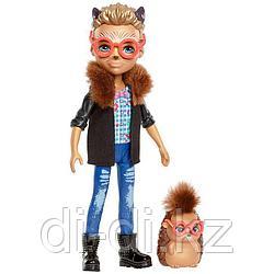 Mattel Enchantimals Игровая Кукла Хиксби Ёжик, 15 см