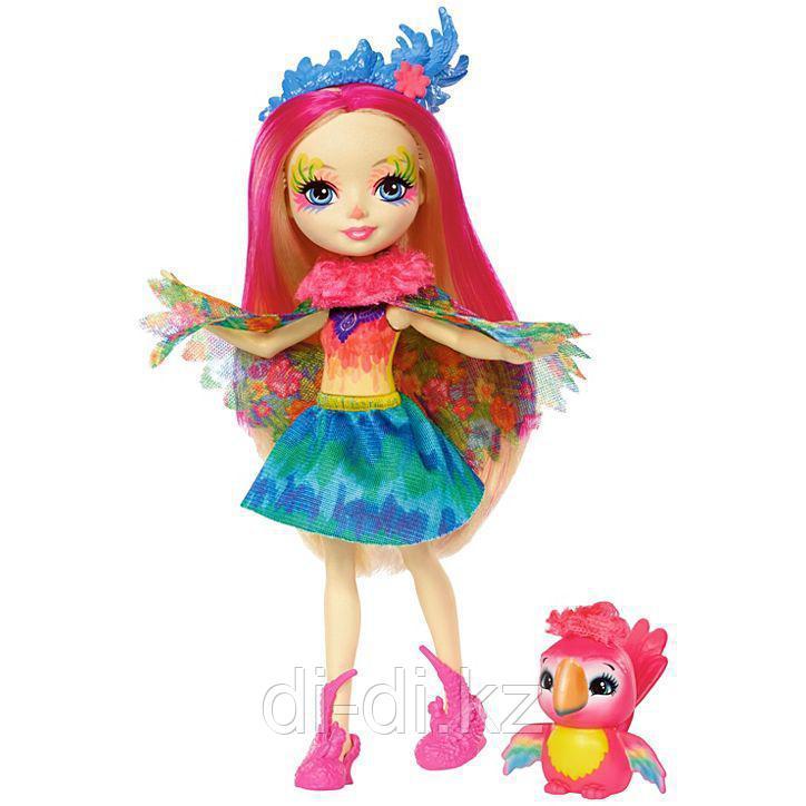 Mattel Enchantimals Игровая Кукла Пикки Какаду, 15 см