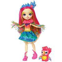 Mattel Enchantimals Игровая Кукла Пикки Какаду, 15 см, фото 1