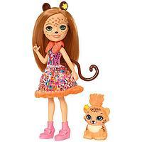 Mattel Enchantimals Игровая Кукла Чериш Гепарди, 15 см, фото 1