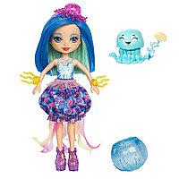 """Кукла """"Энчантималс: Морские подружки"""" - Джесса с питомцем, 15 см, фото 1"""