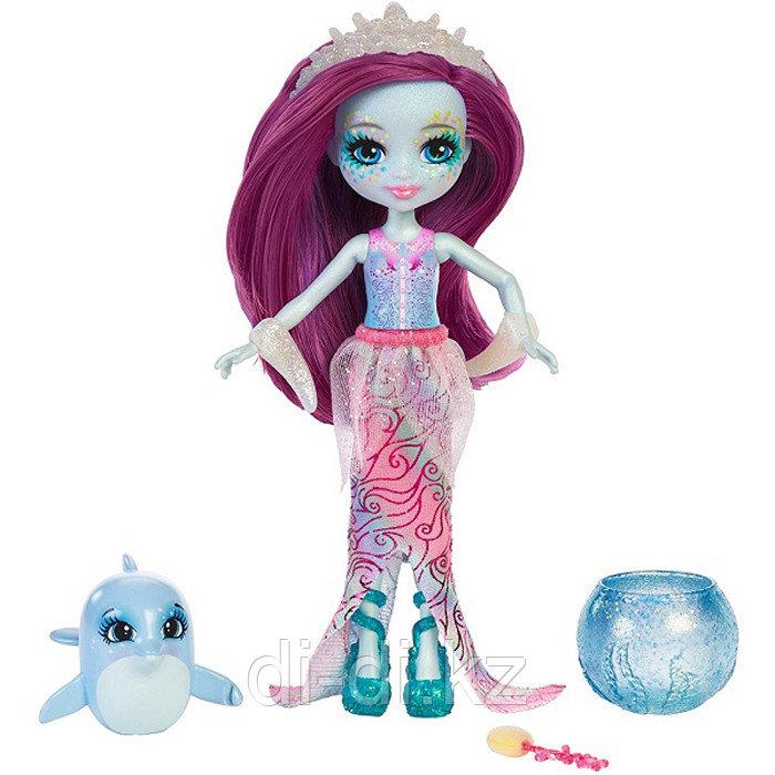 """Кукла """"Энчантималс: Морские подружки"""" - Дольче Дельфина с питомцем, 15 см"""