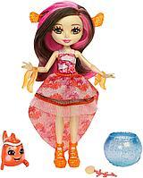 """Кукла """"Энчантималс: Морские подружки"""" - Кларита с питомцем, 15 см, фото 1"""